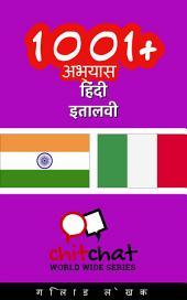 1001+ अभ्यास हिंदी - इतालवी