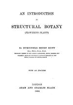 An Introduction to Structural Botany