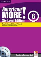 American More  Six Level Edition Level 6 Teacher s Resource Book with Testbuilder CD ROM Audio CD PDF