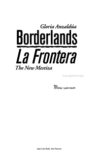 Borderlands Book