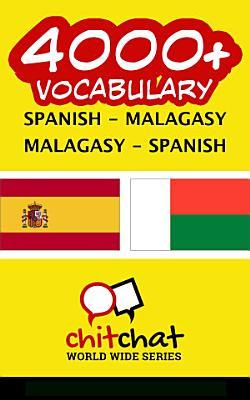 4000  Spanish   Malagasy Malagasy   Spanish Vocabulary