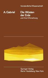Die Wüsten der Erde und ihre Erforschung