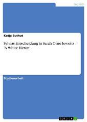 Sylvias Entscheidung in Sarah Orne Jewetts 'A White Heron'