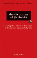 The Dictionary of  bull shit  PDF