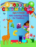 Toddler Coloring Books Ages 1 3 Travel