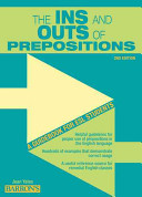The Ins and Outs of Prepositions PDF