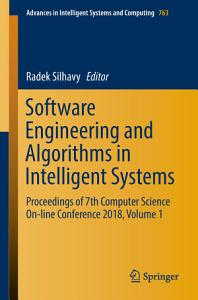 Software Engineering and Algorithms in Intelligent Systems PDF