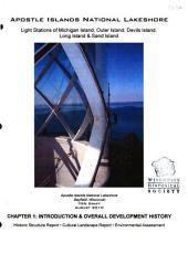 Apostle Islands National Lakeshore  Bayfield  Wisconsin PDF