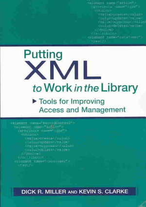 Putting XML to Work in the Library PDF