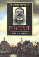 The Cambridge Companion to Proust PDF