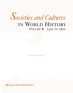 Societies and Cultures in World History  1300 to 1800 PDF