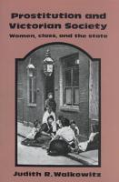 Prostitution and Victorian Society PDF