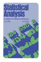 Statistical Analysis PDF
