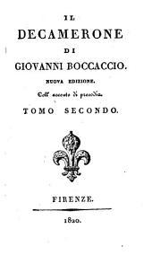 Il Decamerone di Giovanni Boccaccio: Volume 2