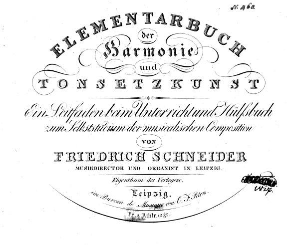 Elementarbuch der Harmonie und Tonsetzkunst PDF