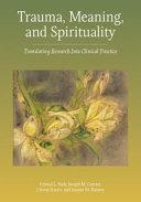 Trauma Meaning And Spirituality