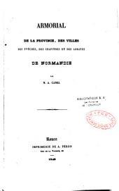 Armorial de la province des villes de Normandie