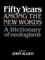 Fifty Years Among the New Words PDF