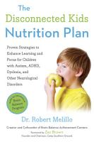 The Disconnected Kids Nutrition Plan PDF