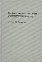 The History of Blacks in Canada