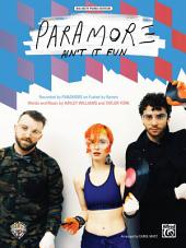 Ain't It Fun: Big Note Piano Solo