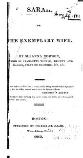 Sarah: Or The Exemplary Wife