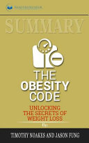 Summary Of The Obesity Code Book PDF