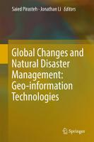 Global Changes and Natural Disaster Management  Geo information Technologies PDF