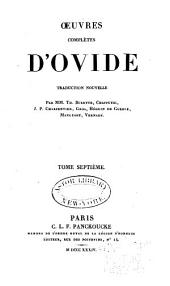 Oeuvres complètes d'Ovide: Volume 7