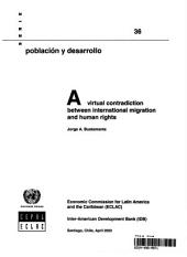 A Virtual Contradiction Between International Migration and Human Rights