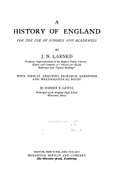 A history of England: for the use of schools and academies