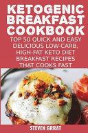 Ketogenic Breakfast Cookbook PDF