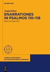 Enarrationes in Psalmos 110-118: Enarrationes in Psalmos 101-150, Pars 2