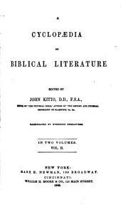 A Cyclopaedia of Biblical Literature: Ibz-Zuz