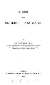 A manual of the English language