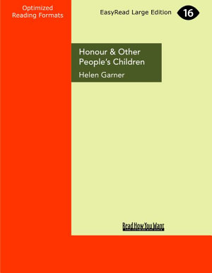 Honour and Other People s Children