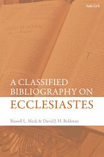 Classified Bibliography on Ecclesiastes