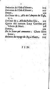 Suitte du Nouveau recueil de plusieurs et diverses pieces galantes de ce temps