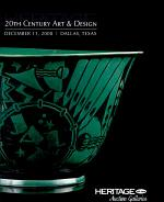 HGAF Heritage Auctions 20th-Century Art and Design Auction #5014, Dallas, TX