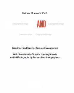 Hand feeding and Raising Baby Birds PDF