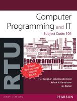 Computer Programming and IT  For RTU PDF