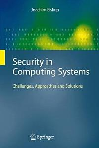 Security in Computing Systems PDF