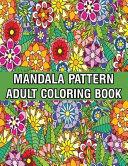 Mandala Pattern Adult Coloring Book
