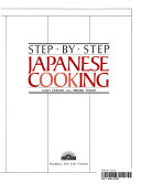 Step-by-step, Japanese Cooking
