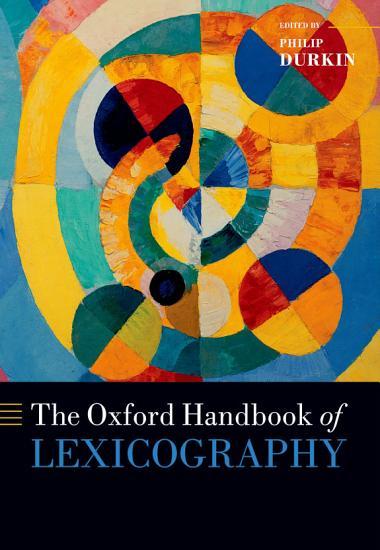 The Oxford Handbook of Lexicography PDF