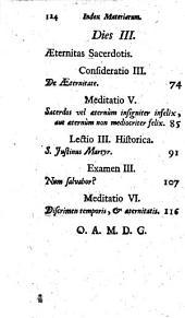 TRIDUUM.: NOVISSIMA SACERDOTIS. IV.