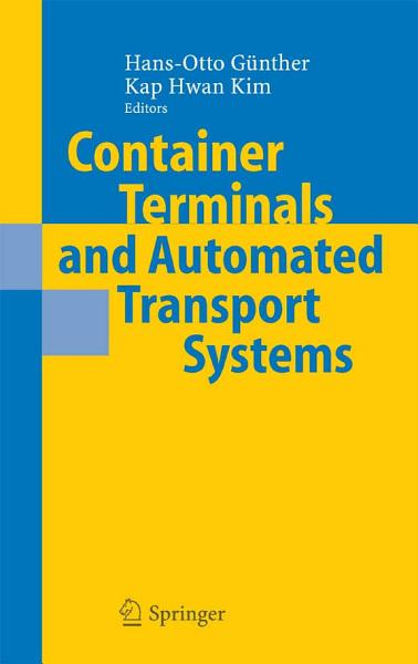 Container Terminals and Automated Transport Systems Pdf Book