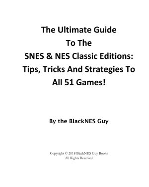 SNES   NES Classic  The Ultimate Guide To The NES   SNES Classic Editions PDF