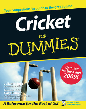 Cricket For Dummies PDF