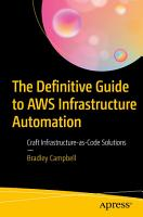 The Definitive Guide to AWS Infrastructure Automation PDF